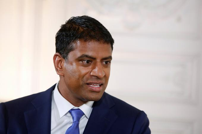 Vas Narasimhan, the head of Novartis