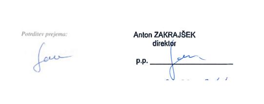 podpis Gale