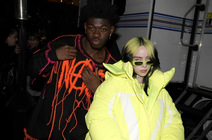 Po šest nominacij imata Lil Nas X in Billie Eilish.