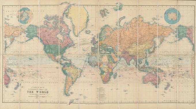 Zemljevid Sveta Vam Laze Ze Vse Zivljenje Siol Net