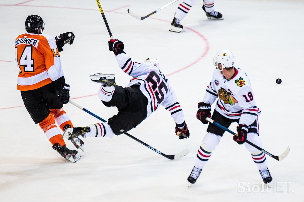 Chicago Blackhawks - Philadelphia Flyers NHL v Pragi 2019