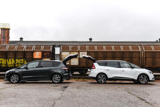 Renault grand scenic in ford s-max