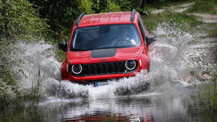 Jeep renegade in compass
