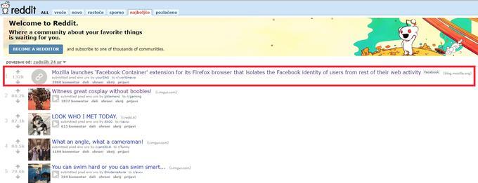 Afera Facebook: na spletu odmeva nov udarec za tehnološkega