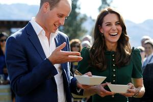 William in Kate jedla falično specialiteto