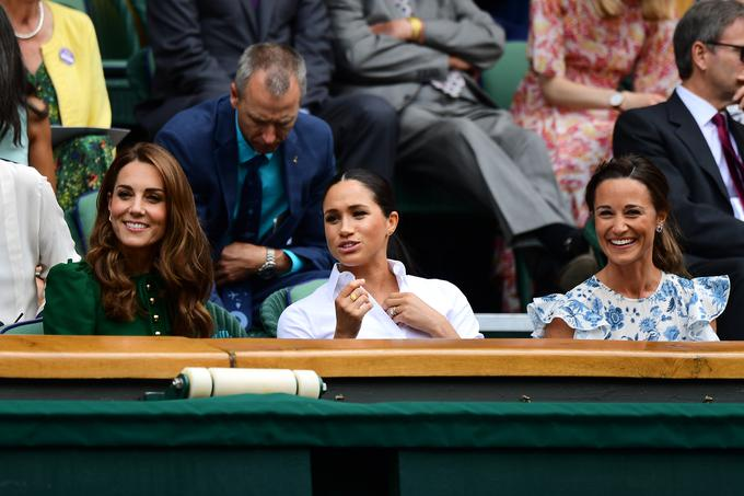Kate, Vojvodina, Meghan and Pippa Middleton gathered the women's finals in Wimbledon.