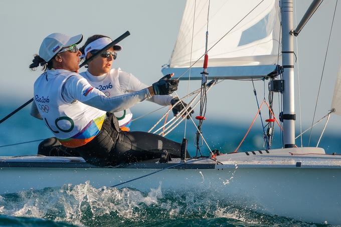 Veronika Macarol in Tina Mrak sta se z zmago poslovili od Ria.