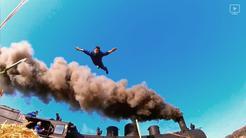 Dunking Devils and F & B Acrobatics