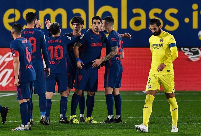 Atletico bo v veliki madridski obračun z Realom vstopil z zajetno prednostjo šestih točk.