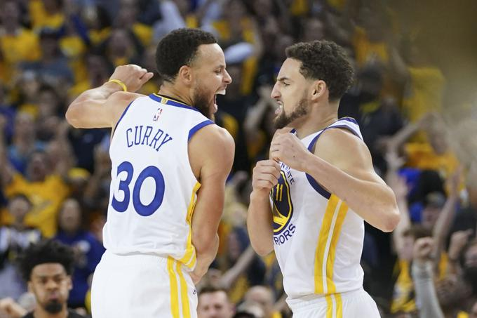 Golden State Warriors so si prislužili zaključno žogico za napredovanje.