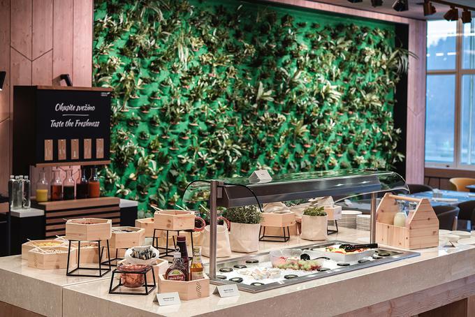 Kulinarična izkušnja v Rikli Balance Hotelu je obarvana z lokalnimi, svežimi in tradicionalnimi jedmi.