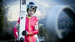 Jack Mogel ski jumping