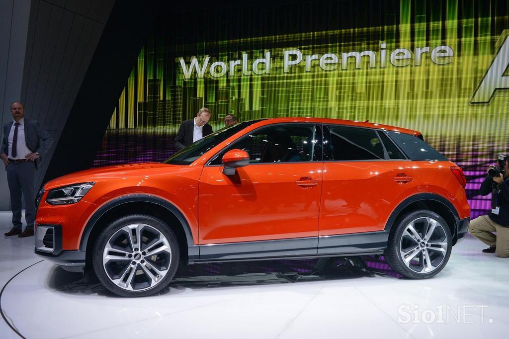 Galerija Audi Q2 Izza Volana Kakovosten In Drzen A Brez