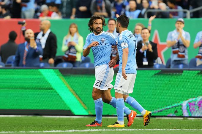 Andrea Pirlo in David Villa sta osrednja zvezdnika moštva New York City.