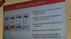 Addiko Chat Banking, Viber