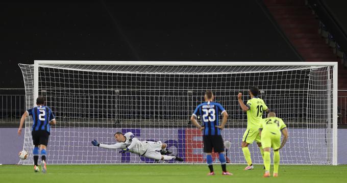 Samir Handanović, ki se je izkazal na tekmi osmine finala proti Getafeju v Gelsenkirchnu, si je s Sanchezom pred leti delil slačilnico že pri Udineseju.