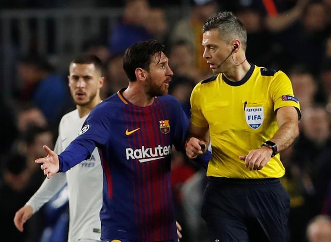 Primorec je na dvoboju podal nekaj opozorilnih besed najboljšemu igralcu srečanja Lionelu Messiju.