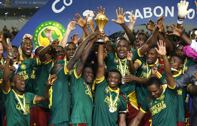 The title of the champion was defended by the Cameroonian footballers.