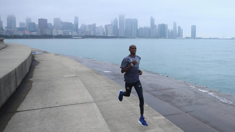 Mo Farah Chicago