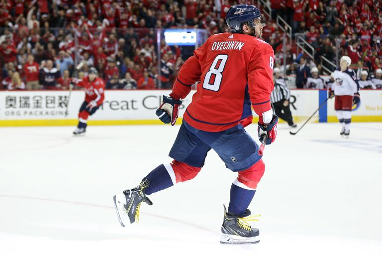 Aleksaner Ovečkin Washington Capitals