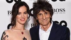 Ronnie Wood in Sally Humphreys