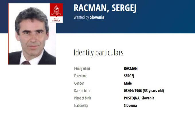 Sergej Racman Interpol