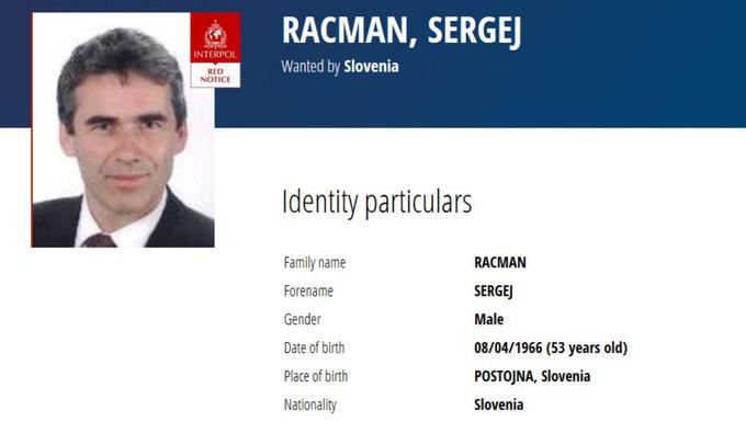 Sergei Racman Interpol