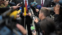 Mikrofon, mikrofoni, novinar, novinarji, mediji