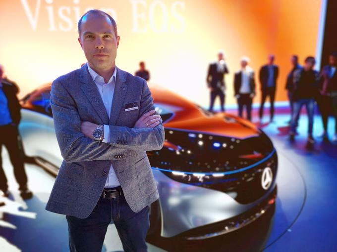 Prior to its latest concept, Robert Leish, the Mercedes-Benz Vision A.R.S.