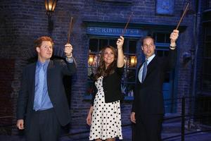 William, Harry in Kate obiskali Harryja Potterja