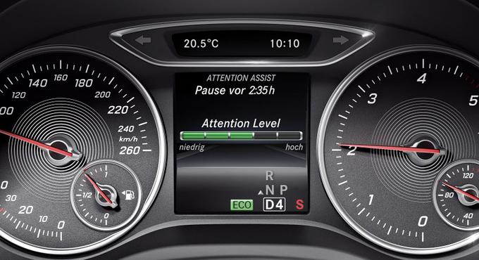 Car systems can also detect a driver's safety and in this case, propose to rest.