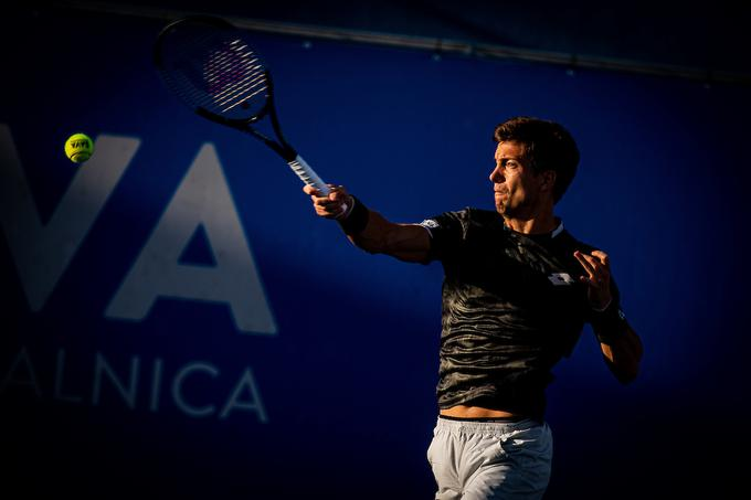 Aljaž Bedene: I felt much better with the ball, so I'm much more satisfied with my game than yesterday.