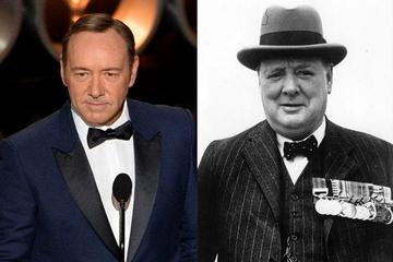 Kevin Spacey bo Winston Churchill
