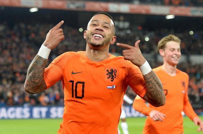 Memphis Depay, who is in excellent shape, will try to help the Dutch to the top spot in the league.