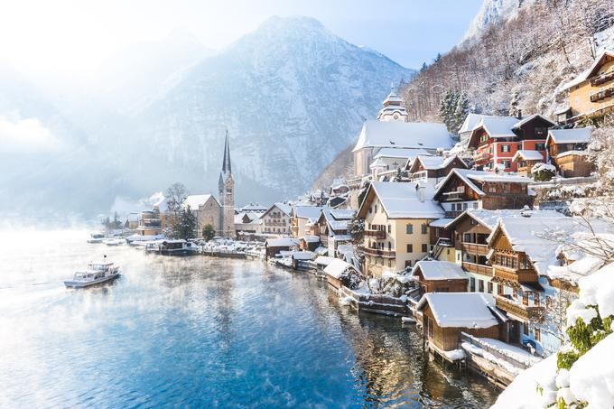 To je Hallstatt ...
