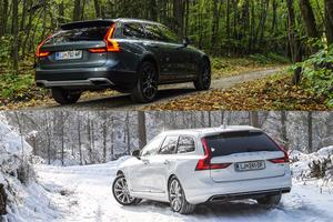 Volvo V90 in V90 cross country: kaj prinaša ta oznaka? #foto