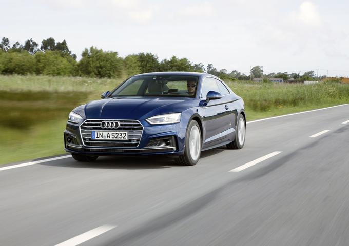 Audi A5 in S5 coupe