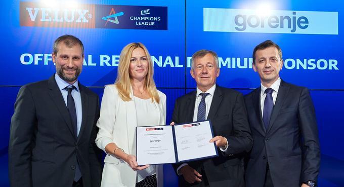 Gorenje je postalo eden največjih sponzorjev evropskega rokometa.