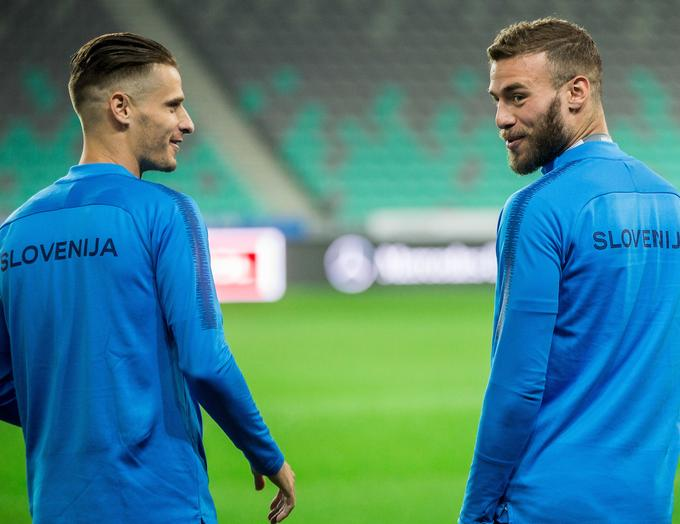 Andraž Strun (left) with Anorthosis in Cyprus climbs on points in the group for the rest, Miha Blažič (right) and became Hungarian champion Ferencvaros.