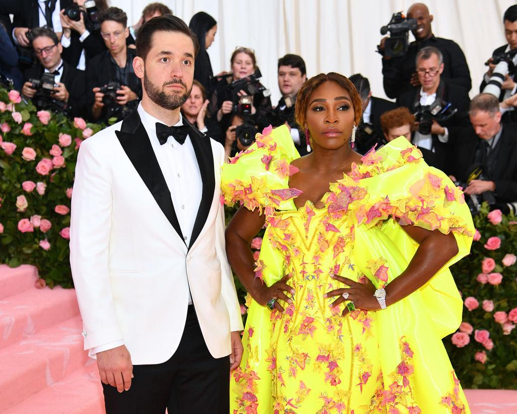 Serena Williams in Alexis Ohanian