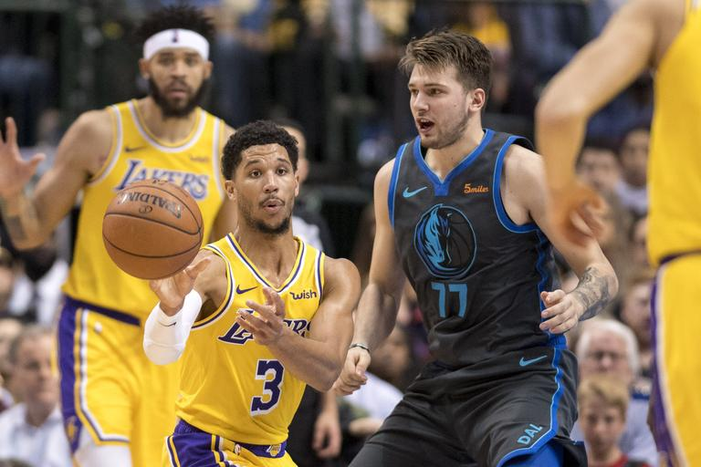 Luka Dončić Dallas Los Angeles Lakers