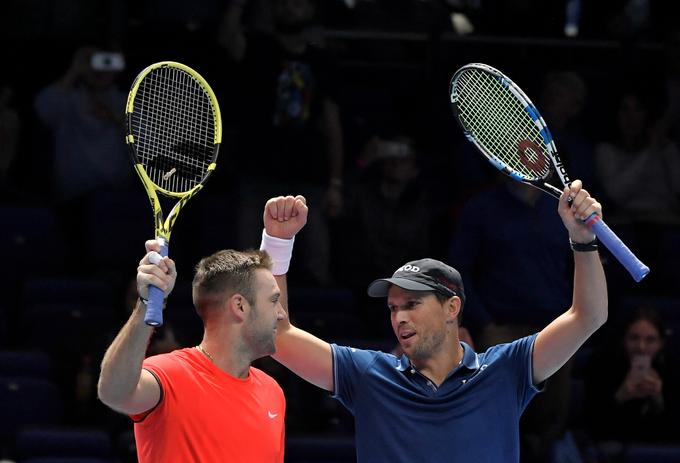 Mike Bryan and Jack Sock.