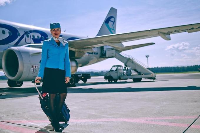 stewards of Adria Airways