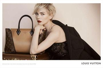 Michelle Williams in še bolj slavni Louis Vuitton