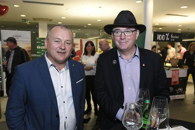 Maribor candidate mayors between Pubec: Franc Kangler and the current mayor Andrej Fištravec ...