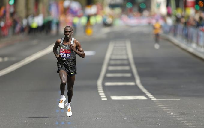 Eliud Kipchoge London 2016