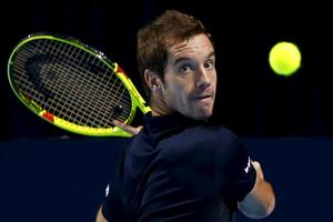 Richard Gasquet v Montpellierju do 13. naslova