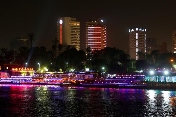 Hotel chain Marriott International has more than 6,700 properties in 130 countries around the world. This is Sheraton Hotel on the Nile Coast of Cairo.