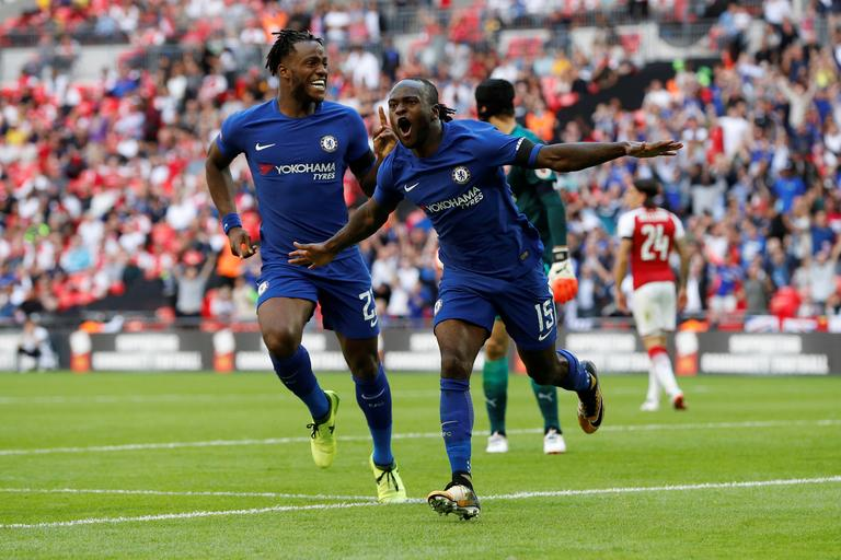 Victor Moses Arsenal Chelsea