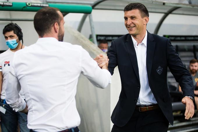 Sergej Jakirović je moral v prejšnjem krogu čestitati znancu iz hrvaškega prvenstva Dinu Skenderju za zmago.